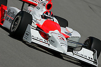 Helio Castroneves at the Pikes Peak International Raceway, Honda Indy 225, August 21, 2005