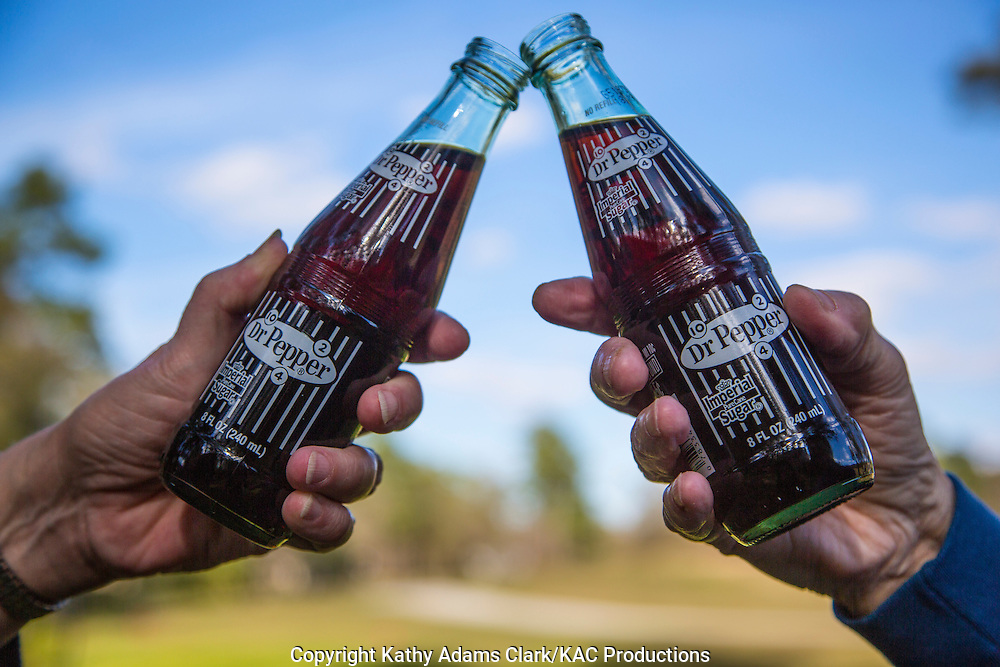 Dr. Pepper made with Imperial Sugar has become a local favorite.  Waco Texas was the first place Dr. Pepper was made.