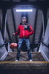 18.01.2020, Titisee Neustadt, GER, Jan Hoerl im Portrait, im Bild der Österreichische Skispringer Jan Hörl posiert während eines Fotoshootings // the Austrian Skijumper Jan Hörl pose during a Photoshooting in Titisee Neustadt, Germany on 2020/01/18. EXPA Pictures © 2020, PhotoCredit: EXPA/ JFK