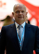 © Licensed to London News Pictures. 03/10/2012. Birmingham, UK Foreign Secretary William Hague on Day 1 at The Conservative Party Conference at the ICC today 7th October 2012. Photo credit : Stephen Simpson/LNP