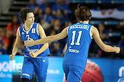 DESCRIZIONE : Orchies 26 giugno 2013 Eurobasket 2013 femminile<br /> Italia Nazionale Femminile Serbia<br /> GIOCATORE : giorgia sottana, raffaella masciadri<br /> CATEGORIA : <br /> SQUADRA : Italia Nazionale Femminile <br /> EVENTO : Eurobasket 2013<br /> Italia Nazionale Femminile Serbia<br /> GARA : Italia Nazionale Femminile Serbia<br /> DATA : 26/06/2013<br /> SPORT : Pallacanestro <br /> AUTORE : Agenzia Ciamillo-Castoria/ElioCastoria<br /> Galleria : Eurobasket 2013<br /> Fotonotizia : Orchies 27 giugno 2013 Eurobasket 2013 femminile<br /> Italia Nazionale Femminile Serbia<br /> Predefinita :