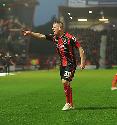 Frustrated Bournemouth's Matt Ritchie - Photo mandatory by-line: Alex James/JMP - Tel: Mobile: 07966 386802 18/01/2014 - SPORT - FOOTBALL - Goldsands Stadium - Bournemouth - Bournemouth v Watford - Sky Bet Championship