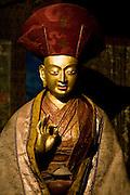 Lama image at Stakna monastery, Leh valley.