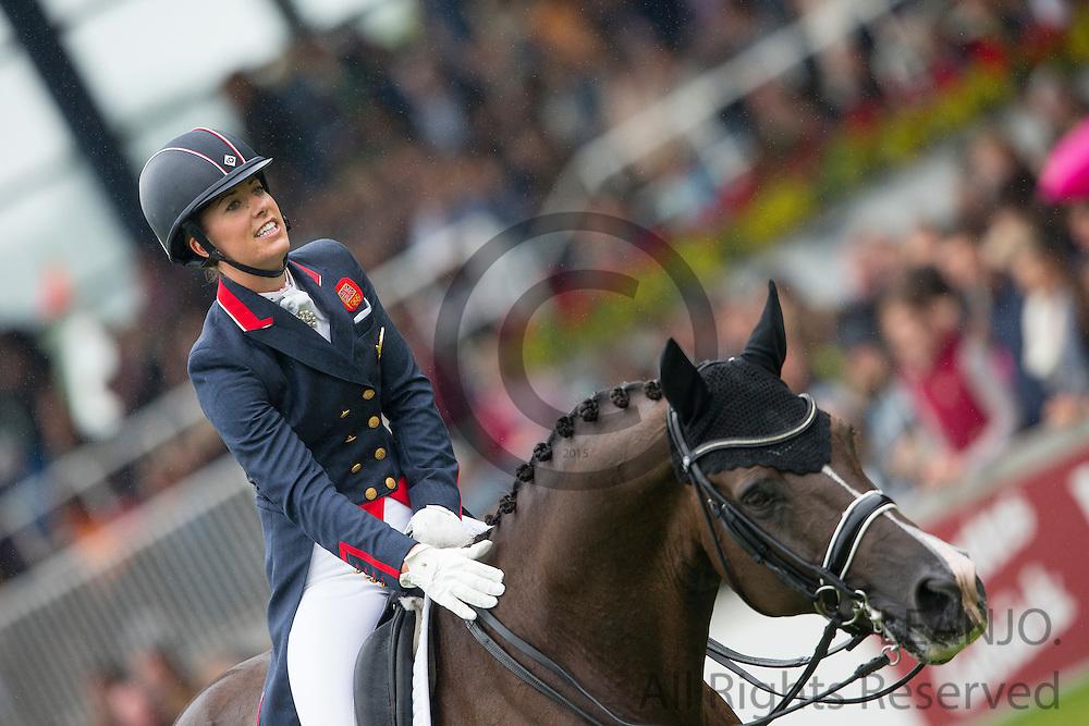 Charlotte Dujardin - Valegro<br /> FEI European Championships Aachen 2015<br /> &copy; DigiShots