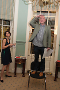 LARA FEIGEL; MICHAEL FISHWICK, The Love-charm of Bombs. Restless Lives in the Second World War. By Lara Feigel - book launch party. Bloomsbury Publishing, 50 Bedford Square, London, WC1, 17 JANUARY 2012.