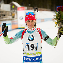 20161211: SLO, Biathlon - IBU Biathlon World Cup Pokljuka, Relay Women 4 x 6 km