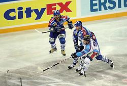 10.01.2012, Arena Zagreb, CRO, EBEL, Medvescak KHL Zagreb vs Sapa Fehervar AV19, im Bild during the ice-hockey match of EBEL League between KHL Medvescak Zagreb and Sapa Fehervar AV19, at Arena Zagreb, Zagreb, Croatia on 2011/01/10. EXPA Pictures © 2012, PhotoCredit: EXPA/ nph/ Pixsell/ Kraj..***** ATTENTION - OUT OF GER, CRO *****