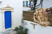 Grece, Cyclades, ile de Tinos, village des artistes de Pyrgos // Greece, Cyclades islands, Tinos, pyrgos village
