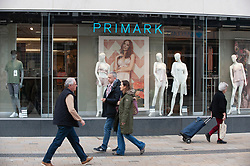 ©Licensed to London News Pictures 17/03/2020<br /> Bromley, UK. Primark store in Bromley, Greater London. Primark has been forced to closed twenty percent of its stores across Europe because of the Coronavirus threat. Photo credit: Grant Falvey/LNP