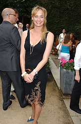 CLEMENTINE HAMBRO at the Tatler Summer Party in association with Moschino at Home House, 20 Portman Square, London W1 on 29th June 2005.<br />