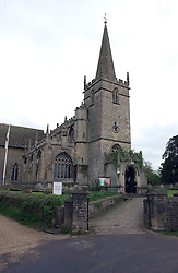 at the wedding of Laura parper Bowles to Harry Lopes held at Lacock, Wiltshire on 6th May 2006.<br /><br />NON EXCLUSIVE - WORLD RIGHTS