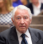 Liberal Democrat Leadership press conference. <br /> Lord David Steel <br /> who served as the Leader of the Liberal Party from 1976 until it merged with the Social Democratic Party in 1988 to form the Liberal Democrats<br /> <br /> 20th July 2017 <br /> at The St Ermin&rsquo;s Hotel, London. Great Britain <br /> &nbsp;<br /> <br /> <br /> Photograph by Elliott Franks <br /> Image licensed to Elliott Franks Photography Services
