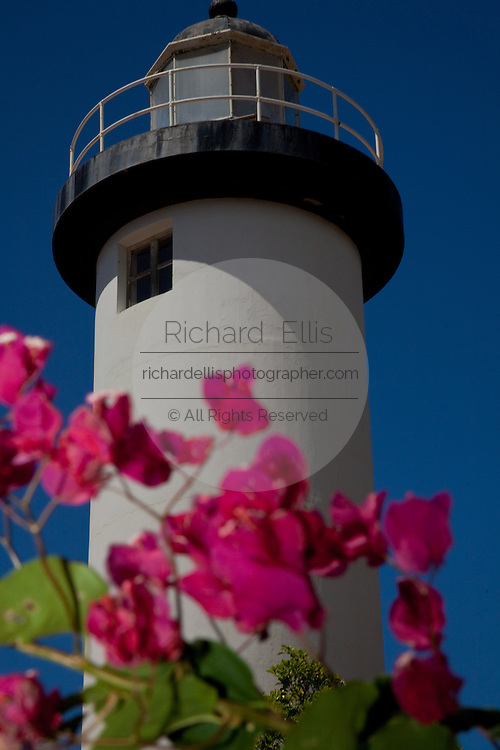 Rincon Lighthouse in Rincon Puerto Rico (photo by Charleston SC photographer Richard Ellis)