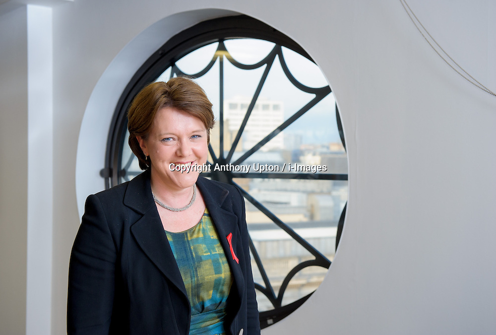 Maria Miller MP, Secretary of State, Department for Culture Media &amp; Sport, Picture taken 2012. Photo By Anthony Upton / i-Images<br /> File photo -  Secretary of State for Culture, Media and Sport Maria Miller resigns following expenses allegations. Pictured filed Wednesday 9th April 2014.