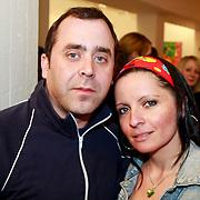 NLD/Amsterdam/20110324 - Opening Hers and His expositie van Eddy Zoey, Horace Cohen en partner Sanne Kraaijkamp
