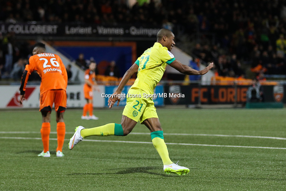 Joie Johan AUDEL - 20.12.2014 - Lorient / Nantes - 17eme journee de Ligue 1 -<br />Photo : Vincent Michel / Icon Sport