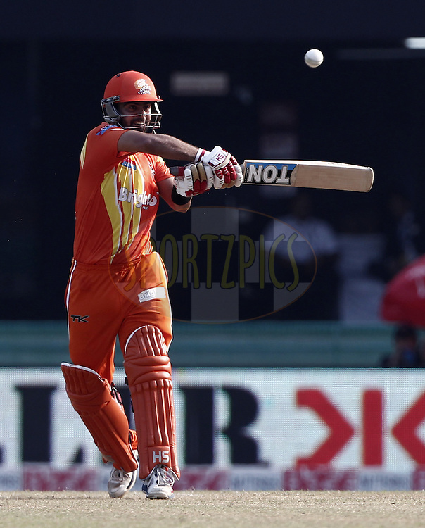 Ahmed Shehzad of the LAHORE LIONS hit the shot during the qualifier 5 match of the Oppo Champions League Twenty20 between the Southern Express and the Lahore Lions held at the Chhattisgarh International Cricket Stadium, Raipur, India on the 16th September 2014<br /> <br /> Photo by:  Deepak Malik / Sportzpics/ CLT20<br /> <br /> <br /> Image use is subject to the terms and conditions as laid out by the BCCI/ CLT20.  The terms and conditions can be downloaded here:<br /> <br /> http://sportzpics.photoshelter.com/gallery/CLT20-Image-Terms-and-Conditions-2014/G0000IfNJn535VPU/C0000QhhKadWcjYs