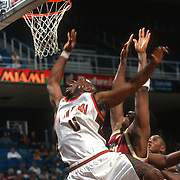 1996 Hurricanes Men's Basketball Action