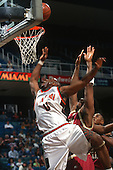 1996 Hurricanes Men's Basketball Action
