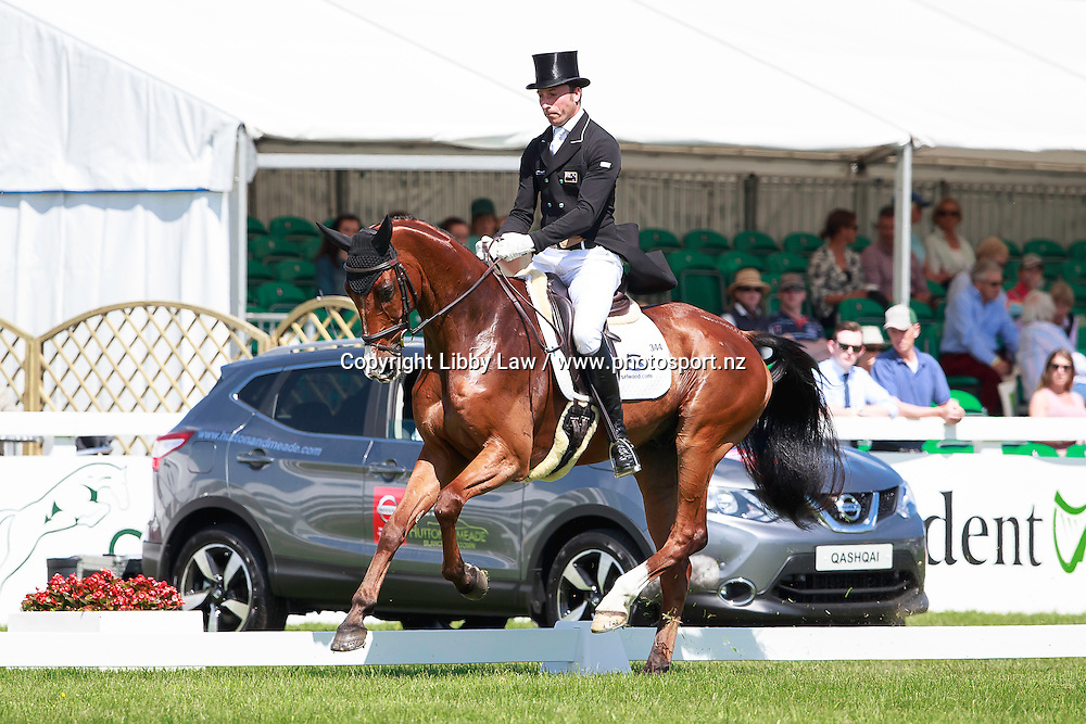 NZL-Tim Price (RINGWOOD SKY BOY) INTERIM-: GEORGE MERNAGH MEMORIAL CIC3* DRESSAGE: 2016 IRL-Tattersalls International Horse Trial (Friday 3 June) CREDIT: Libby Law COPYRIGHT: LIBBY LAW PHOTOGRAPHY