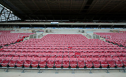 New seats in the West Stand  - Mandatory by-line: Joe Meredith/JMP - 30/04/2016 - FOOTBALL - Ashton Gate Stadium - Bristol, England - Bristol City v Huddersfield Town - Sky Bet Championship