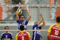 12-02-2011 VOLLEYBAL: AB GRONINGEN/LYCURGUS - DRAISMA DYNAMO: GRONINGEN<br /> In een bomvol Alfa-college Sportcentrum werd Dynamo met 3-2 (25-27, 23-25, 25-19, 25-23 en 16-14) verslagen door Lycurgus / Willem-Maarten Heins en Ernst Zijlstra<br /> ©2011-WWW.FOTOHOOGENDOORN.NL
