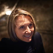 Séverine Frerson prepares to take over the role of cellar master from Hervé Deschamps at champagne Perrier-Jouët. 