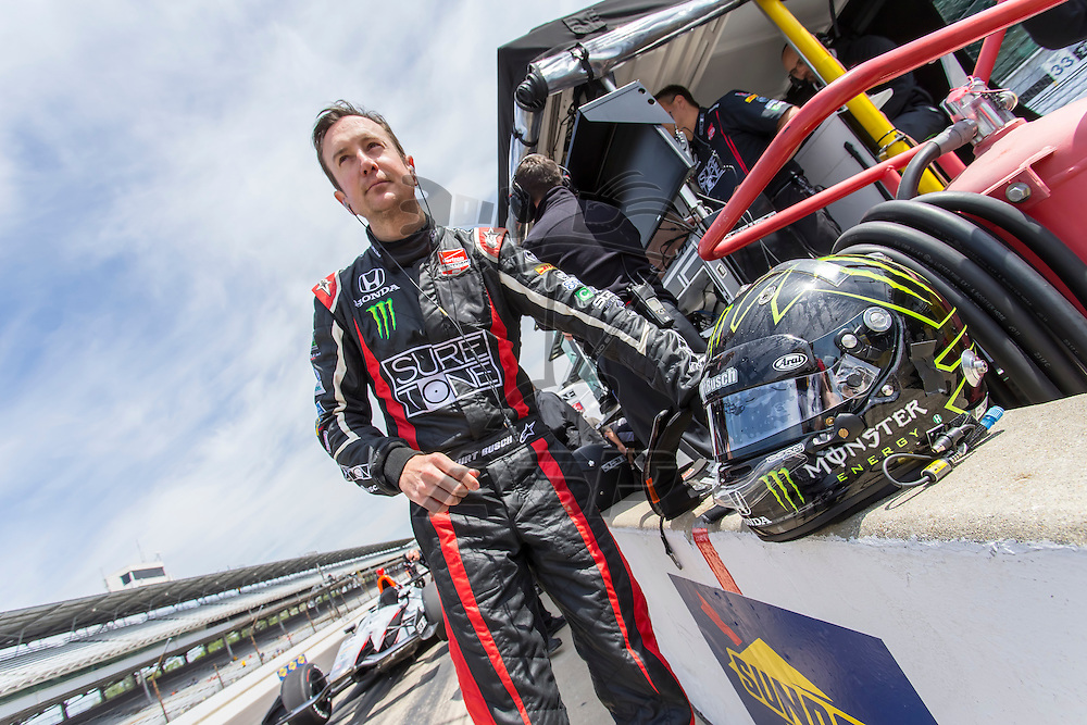 Indianapolis, IN - May 19, 2014:  Kurt Busch (26) takes to the track as he makes practice runs for the Indianapolis 500 IndyCar race in Indianapolis, IN.  <br /> <br /> MANDATORY PHOTO CREDIT:  Walter G. Arce, Sr. KBI/ActionSportsInc.com