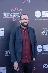 Judges photo-call at Edinburgh International Film Festival<br /> <br /> Pictured: Alejandro Diaz Castano, Film Festival Director (Shorts Jury)