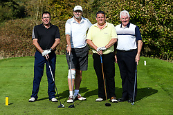Tom Stanton joins MB Frames as they take part in the Annual Bristol Rovers Golf Day - Rogan/JMP - 09/10/2017 - GOLF - Farrington Park - Bristol, England - Bristol Rovers Golf Day.