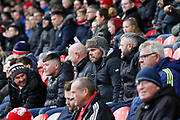Middlesbrough fans during the EFL Sky Bet Championship match between Middlesbrough and Derby County at the Riverside Stadium, Middlesbrough, England on 27 October 2018.