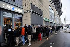 20110112 Ticket sale for FC København - Chelsea