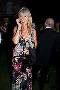 NETTIE MASON, The Goodwood Ball. In aid of Gt. Ormond St. hospital. Goodwood House. 27 July 2011. <br /> <br />  , -DO NOT ARCHIVE-© Copyright Photograph by Dafydd Jones. 248 Clapham Rd. London SW9 0PZ. Tel 0207 820 0771. www.dafjones.com.