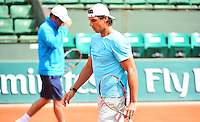 Toni NADAL Coach de Rafael Nadal  - 21.05.2015 -  Roland Garros 2015<br /> Photo : WinterPress/ Icon Sport