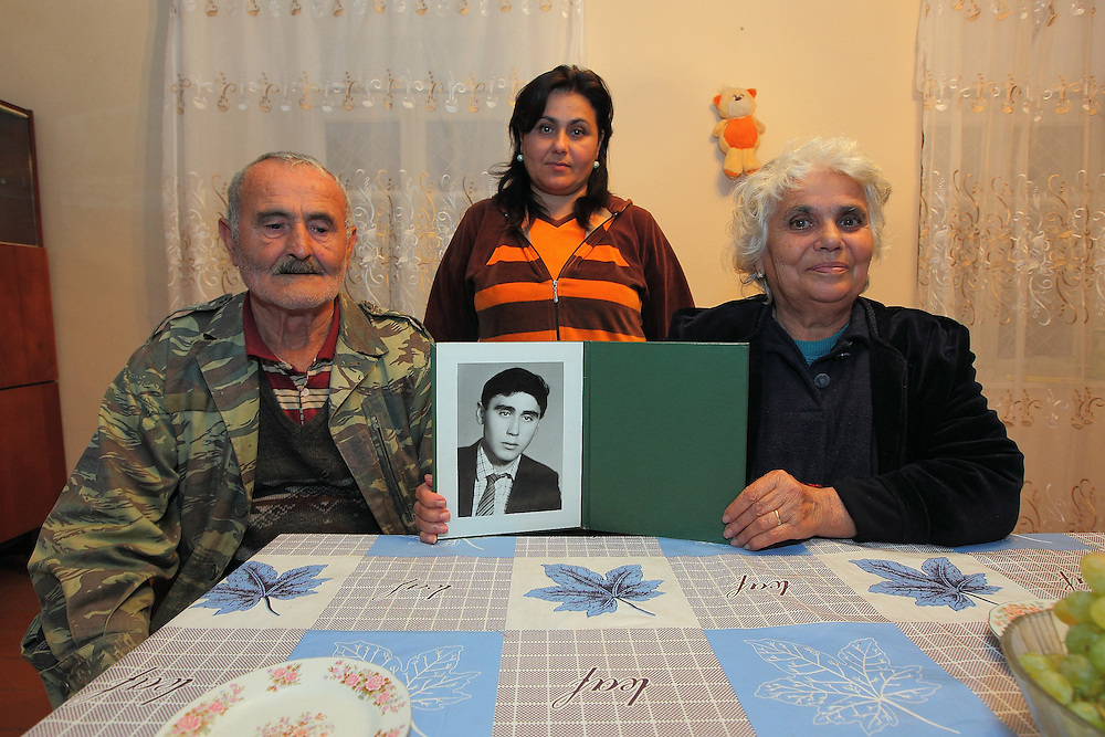 The Grigoryan's and their missing son