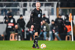 December 13, 2018 - Istanbul, Turkey - 181213 Franz Brorsson of MalmÅ¡ FF in pain during the Europa league match between Besiktas and MalmÅ¡ FF on December 13, 2018 in Istanbul..Photo: Petter Arvidson / BILDBYRN / kod PA / 92175 (Credit Image: © Petter Arvidson/Bildbyran via ZUMA Press)