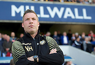 Manager Neil Harris of Millwall during the Sky Bet League 1 Playoff Semi-final Leg Two at The Den, London<br /> Picture by Alan Stanford/Focus Images Ltd +44 7915 056117<br /> 20/05/2016