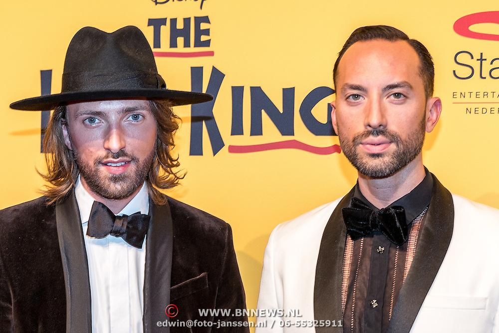 NLD/Scheveningen/20161030 - Premiere musical The Lion King, Tommie Driessen en ..............