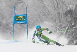 Borut Bozic of Slovenia during 1st run of Men's Giant Slalom race of FIS Alpine Ski World Cup 57th Vitranc Cup 2018, on 3.3.2018 in Podkoren, Kranjska gora, Slovenia. Photo by Urban Meglič / Sportida