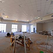 Construction continues at the new Charles Henderson Middle School in Troy, Ala., Thursday, March 13, 2014. (Photo/Thomas Graning)