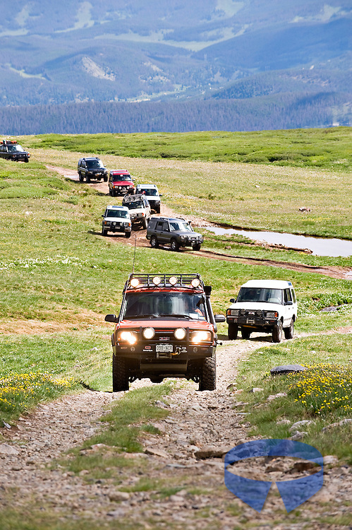 2011 Land Rover National Rally in Breckenridge, Colorado.