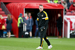 Newport County Manager Michael Flynn before the FA Cup fourth round match at Riverside Stadium, Middlesbrough.
