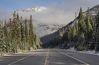 North Cascades Highway at Rainy Pass Washington