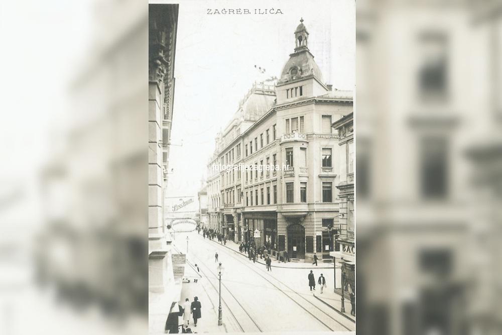 Zagreb : Ilica. <br /> <br /> ImpresumZagreb : Griesbach i Knaus, 19--].<br /> Materijalni opis1 razglednica : tisak ; 13,7 x 8,7 cm.<br /> NakladnikFotoveletrgovina Griesbach i Knaus (Zagreb)<br /> Vrstavizualna građa • razglednice<br /> ZbirkaZbirka razglednica • Grafička zbirka NSK<br /> Formatimage/jpeg<br /> PredmetZagreb –– Ilica<br /> SignaturaRZG-ILIC-14<br /> Obuhvat(vremenski)20. stoljeće<br /> NapomenaRazglednica je putovala između 1920. i 1929. godine<br /> PravaJavno dobro<br /> Identifikatori000946530<br /> NBN.HRNBN: urn:nbn:hr:238:467943 <br /> <br /> Izvor: Digitalne zbirke Nacionalne i sveučilišne knjižnice u Zagrebu