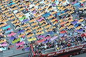 Yoga in Times Square with Febreze