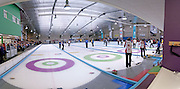 World Curling Championships seniors finals, Dumfries Ice Bowl, Scotland,April 2014