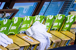 JERSEYS of team Slovenia during friendly basketball match between National teams of Slovenia and Georgia in day 2 of Adecco Cup 2014, on July 25, 2014 in Dvorana OS 1, Murska Sobota, Slovenia. Photo by Vid Ponikvar / Sportida.com