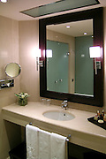 Bathroom in suite of majestic Hotel in Barcelona