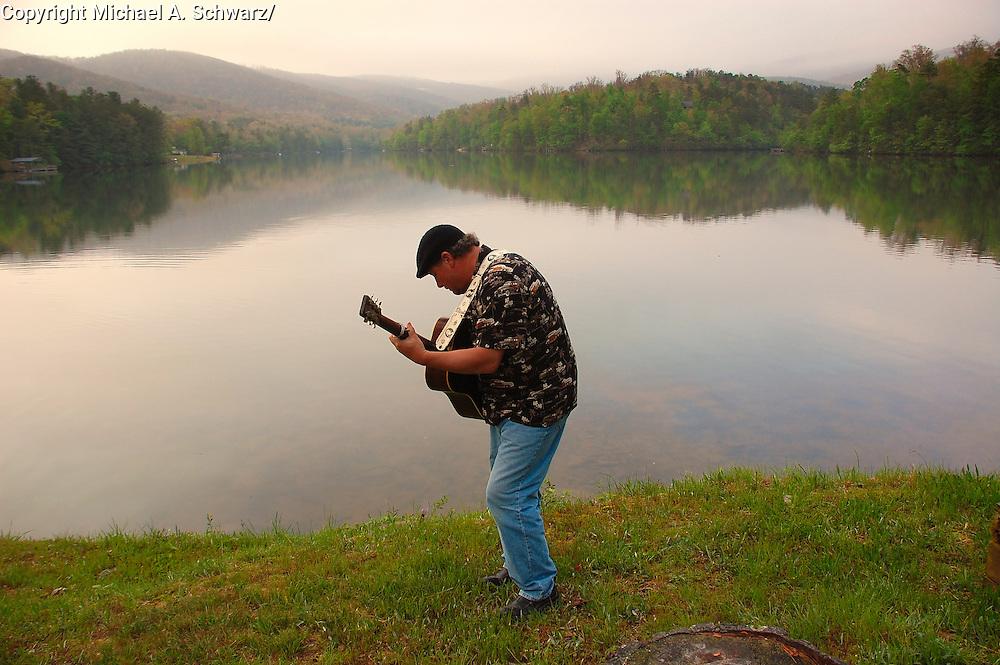 Jasper, Georgia.  5/5/07 Bluegrass Musician practices.