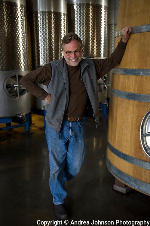 Mark Vlossak, winemaker, St. Innocent, Eola Hills, Willamette Valley, Oregon